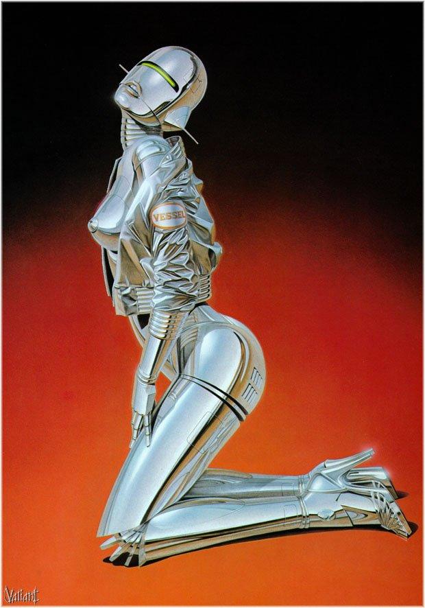 80s Sexy Robots by Sorayama.