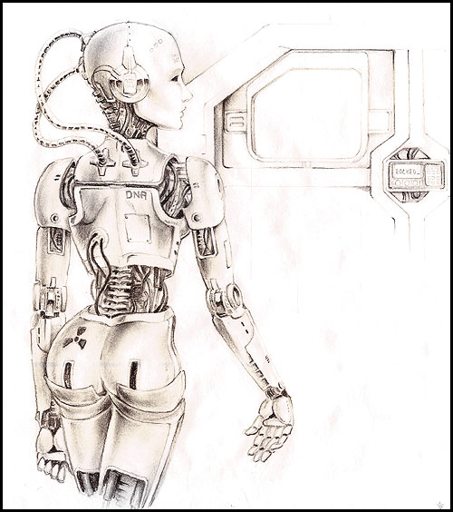 File:Cyborg Girl by lareux.jpg