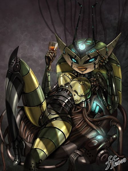 File:1275x1701 582 Vexus 2d character robot girl female woman sexy sci fi picture image digital art.jpg