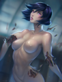 Damaged Motoko from Ghost in the Shell by ragecndy.png