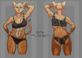 Reference sheet - cath - Clothed.png