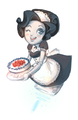 Robomaid gives you cake by noa85-d4tkzv2.png